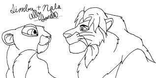 simba and nala drawing allys 2017 jan 27 2012