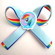 my pony ribbon rainbow dash my pony hair bow ribbon by geekstarcostuming