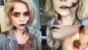 Grwm Zombie Halloween Makeup Tutorial Youtube