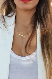 bar gold necklace images Thinking about getting another ear piercing you should read this jpg
