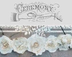wedding garland etsy
