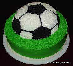 soccer cakes soccer cake you can make