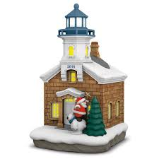 lighthouse ornament with light keepsake ornaments hallmark