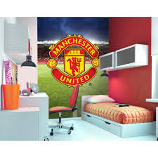 decorline official manchester united wall mural fin0005 wall official manchester united wall mural fin0005