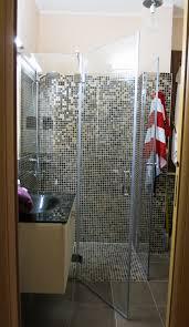 cabina doccia roma box doccia a battente in vetro temperato su misura aperta roma