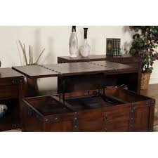 coffee table carson forge lift top coffee table 414444 sauder with