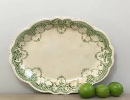 1920s english stoneware serving platter tray dudson wilcox