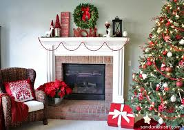 christmas mantel 20 festive and christmas mantels for your home a blissful nest