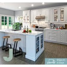 white kitchen cabinets with island j collection 36 x 96 x 0 625 in melamine island fridge