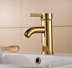riviera deck mount gold bathroom sink faucet single handle mixer tap