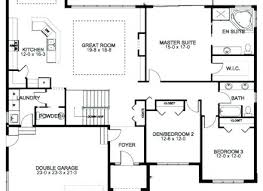 ranch floor plans with 3 bedrooms 4 bedroom house plan 3 bedroom house plans fascinating more 3