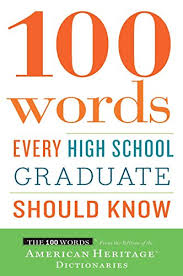 book for high school graduate 100 words every high school graduate should
