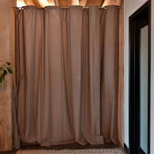 amazon com roomdividersnow muslin room divider curtain 8ft tall