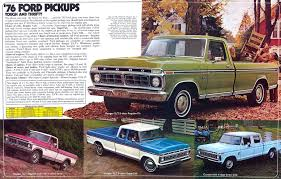 Ford F 100 1976 1976 Ford Pickup Information And Photos Momentcar