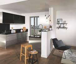 cuisine en u ouverte sur salon idee cuisine en u beautiful idee de plan travail pour cuisine