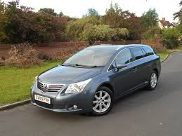 used toyota avensis tr for sale motors co uk