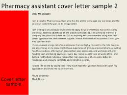 Resume For Pharmacist Job Pharmacy Assistant Cover Letter