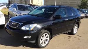 lexus rx 350 for sale 2009 pre owned black 2009 lexus rx 350 4dr review calgary alberta