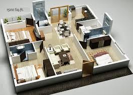 bedroom house plans home design ideas pictures 1200 sq ft 3 3d