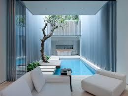 swimming pool in interior courtyard singapore interior design mag