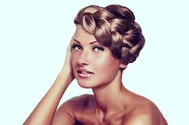 braided pinup hairstyles vintage hairstyles go modern this fall