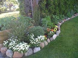 wow flower bed edging with rocks 20 for your with flower bed