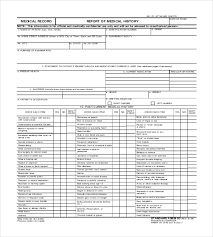 8 medical report templates free sample example format
