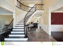 foyer in open floor plan royalty free stock images image 12655559