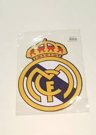 wall decals stickers home decor home furniture diy fc real madrid logo decal wall sticker art home decor football