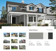 Sherwin Williams White Exterior Paint - sherwin williams u0027 resilience premium exterior paint features a