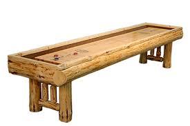 Shuffle Board Tables 12 Foot Montana Shuffleboard Table Mcclure Tables