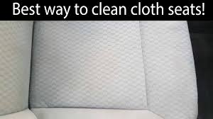 Baking Soda Upholstery Cleaner Best Cloth Seat Cleaning Technique Youtube