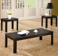 Accent Coffee Table Coffee Tables Simple Coffee Table Piece Set Black And End Tables