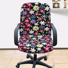 computer chair covers large size office computer chair cover side zipper design arm