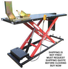 motorcycle lift table plans motorcycle lift table ebay