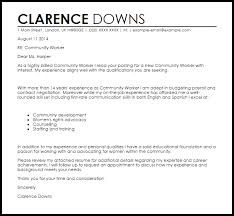 work cover letter examples social worker cover letter example