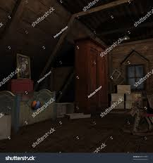 background dark room different applications stock illustration
