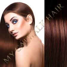 catwalk hair extensions easy loop remy extensions 4 chestnut brown my catwalk hair
