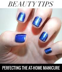 sorelle in style beauty tips perfecting the at home manicure