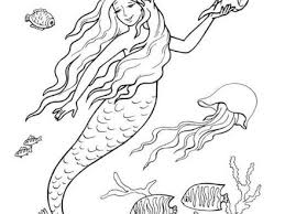 28 fairy mermaid coloring pages enchanted designs fairy mermaid