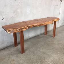 Slab Coffee Table by Yew Wood Live Edge Slab Coffee Table U2013 Urbanamericana