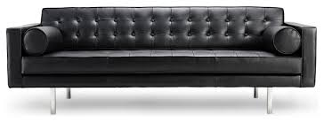 Leather Sofas Modern Modern Black Couches Unique 39 Living Room Sofa With Leather