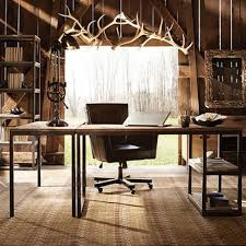 industrial home interior rustic home office furniture industrial home office desk home design