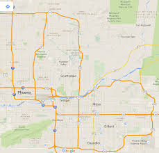 City Of Phoenix Map by Phish Net Anyone Familiar With Living In Phoenix Scottsdale Az