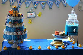 boy baby shower ideas rubber duck themed baby shower ideas popsugar