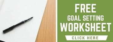 how to set financial goals free intel financial goal worksheet