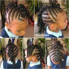 images of kids hair braiding in a mohalk children s twisted mohawk cute hairstyle for a little girl