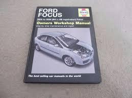 haynes ford focas workshop manual 2005 2009 petrol in longwell