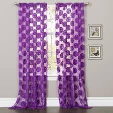 Purple Polka Dot Curtain Panels arlene window curtain
