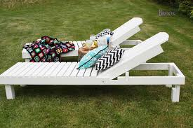Build Wood Outdoor Furniture by Ana White 35 Wood Chaise Lounges Diy Projects